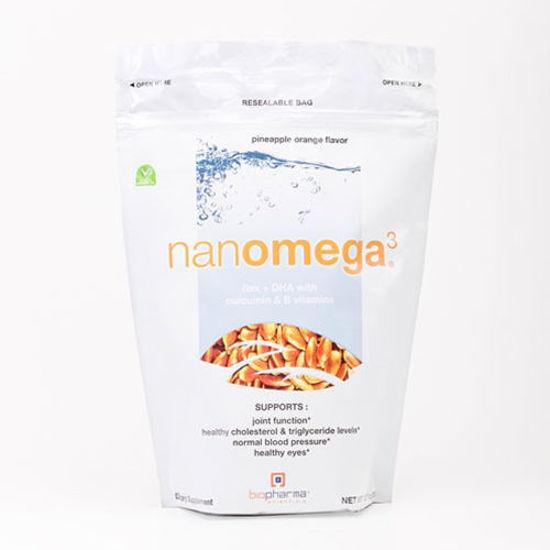 Picture of NanOmega3 (Pineapple Orange) 12.7oz. by Biopharma Scientific