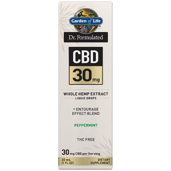 Picture of Dr. Formulated CBD Oil 30mg (Peppermint) 1 oz. Drops by GoL