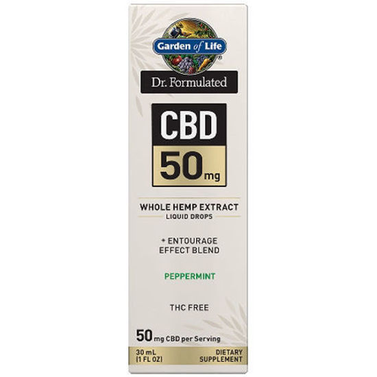 Picture of Dr. Formulated CBD Oil 50mg (Peppermint) 1 oz. Drops by GoL