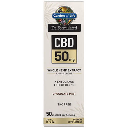 Picture of Dr. Formulated CBD Oil 50mg (Choc. Mint) 1 oz. Drops by GoL