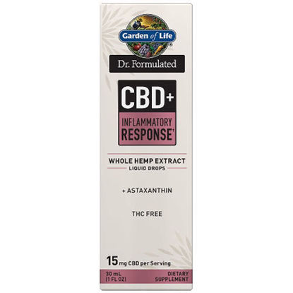 Picture of Dr. Formulated CBD+ Inflammatory Response 15mg, 1 oz. by GoL