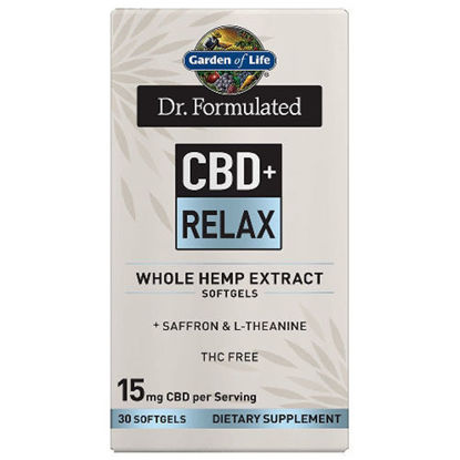 Picture of Dr. Formulated CBD+ Relax Softgels (15mg) 30ct by GoL