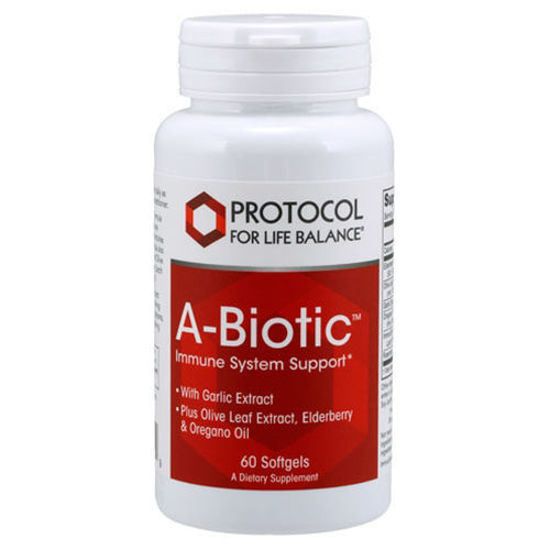 Picture of A-Biotic 60 softgels by Protocol