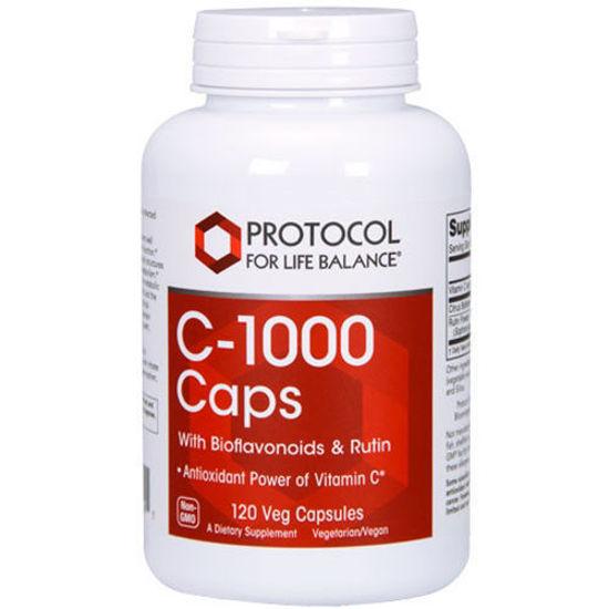Picture of Vitamin C-1000 w/ Bioflavonoids & Rutin 120 caps by Protocol