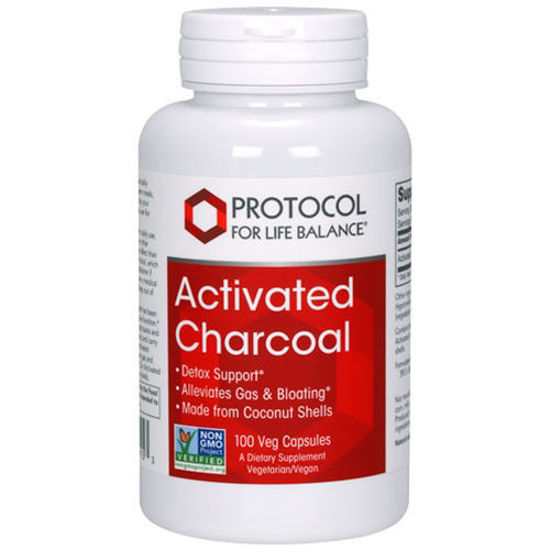 Picture of Activated Charcoal 100 caps by Protocol