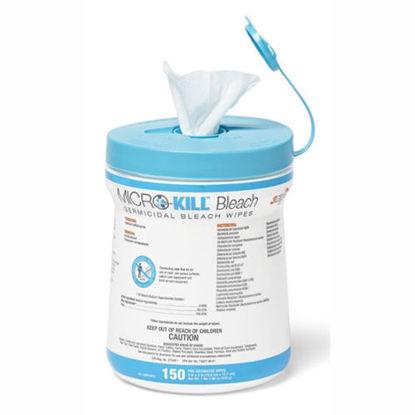 Picture of Micro-Kill Bleach Germicidal Bleach Wipes 150's