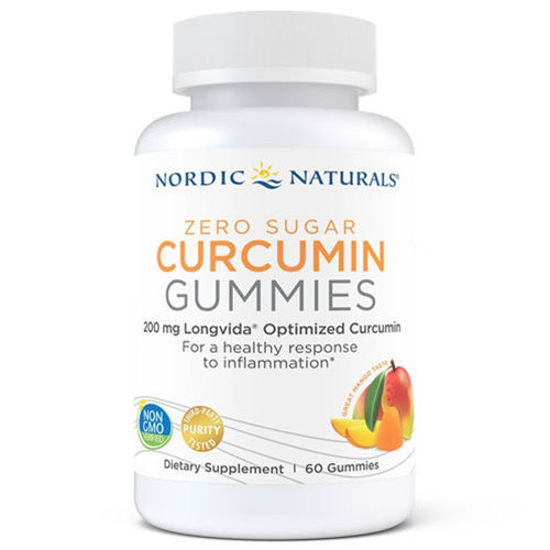 Picture of Zero Sugar Curcumin Gummies 60ct, Nordic Naturals