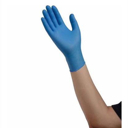 Picture of ESTEEM Nitrile Exam Gloves (Med.) by Cardinal Health 100's