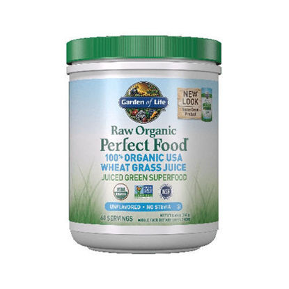 Picture of Raw Organic Perfect Food Wheat Grass Juice (Unflavored)