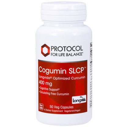 Picture of Cogumin SLCP Longvida (400 mg) 50 caps by Protocol