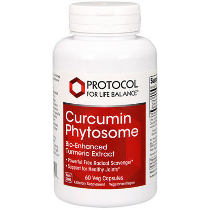 Picture of Curcumin Phytosome w/ Meriva (500 mg) 60 caps by Protocol