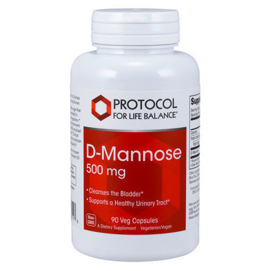 Picture of D Mannose (500 mg) 90 caps by Protocol
