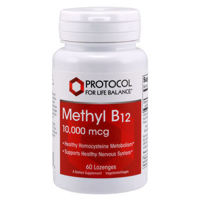 Picture of Methyl B12 (10,000 mcg) 60 lozenges by Protocol