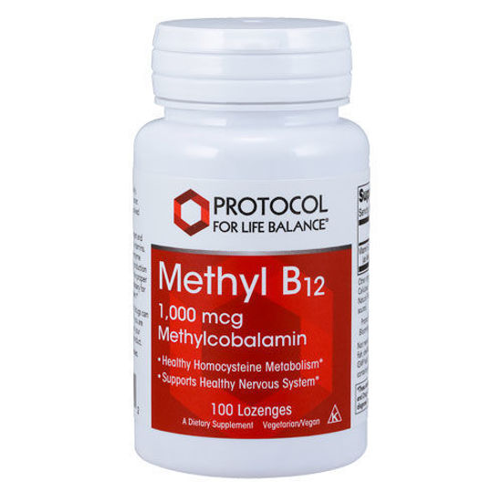 Picture of Methyl B12 (1000 mcg) 100 lozenges by Protocol