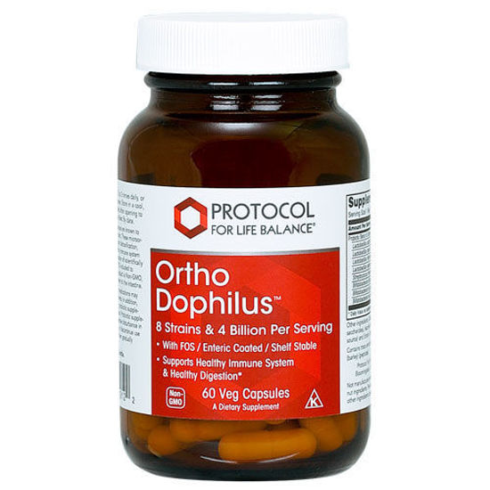 Picture of Ortho Dophilus (Shelf Stable) 60 caps by Protocol