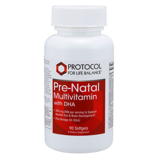 Picture of Prenatal Multi w/ DHA 90 softgels by Protocol