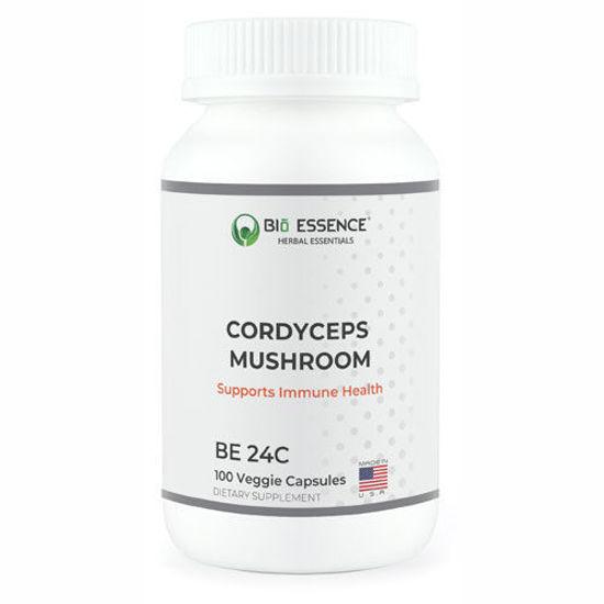 Picture of Cordyceps Mushroom 100 caps by Bio Essence