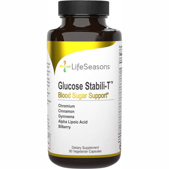 Picture of Glucose Stabili-T 90 caps by LifeSeasons