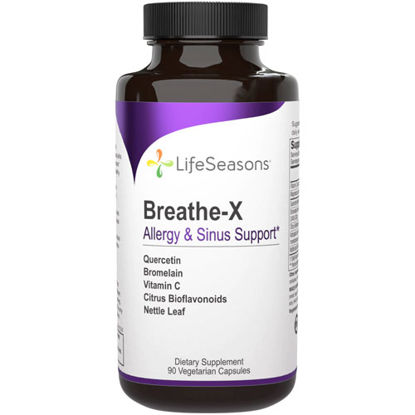 Picture of Breathe-X 90 caps by LifeSeasons