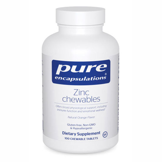 Picture of Zinc Chewables 100's, Pure Encapsulations