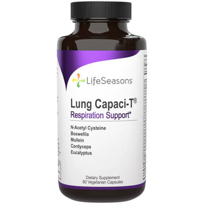 Picture of Lung Capaci-T 90 caps by LifeSeasons