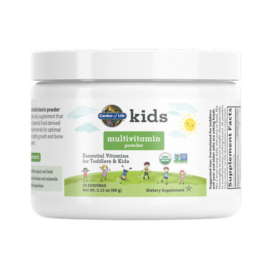 Picture of Kids Organic Multivitamin 60g Powder by Garden of Life