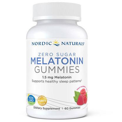 Picture of Zero Sugar Melatonin Gummies 60ct, Nordic Naturals
