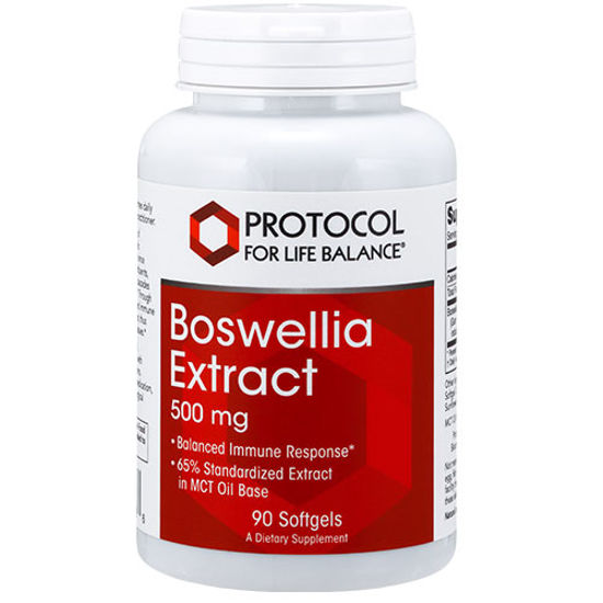 Picture of Boswellia Extract (500mg) 90 softgels by Protocol