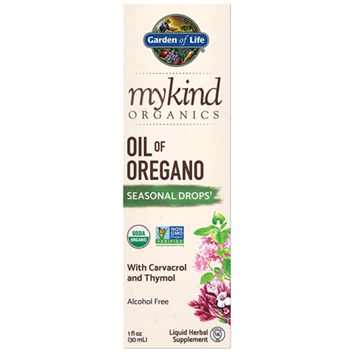 Garden of Life Herbals mykind Organics Oil of Oregano 1 oz. by Garden of Life