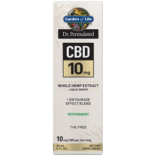 Hemp Extracts Dr. Formulated CBD Oil 10mg (Peppermint) 1 oz. Drops by GoL