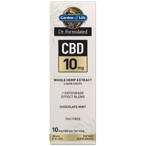 Hemp Extracts Dr. Formulated CBD Oil 10mg (Choc. Mint) 1 oz. Drops by GoL