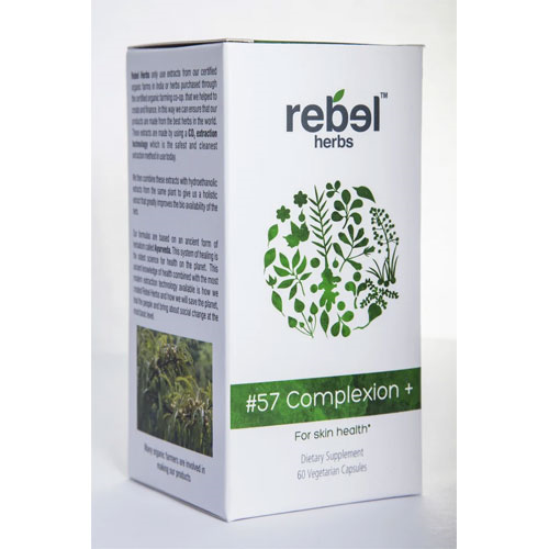 Rebel Herbs #57 Complexion+ 60 caps by Rebel Herbs
