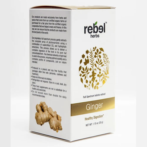 Rebel Herbs Ginger Extract Powder 33gm by Rebel Herbs