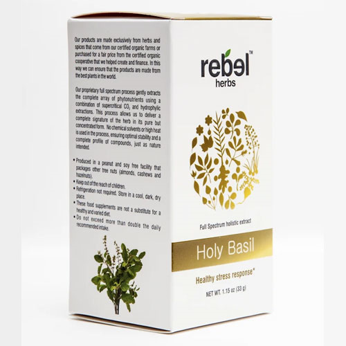 Rebel Herbs Holy Basil Extract Powder 33gm by Rebel Herbs