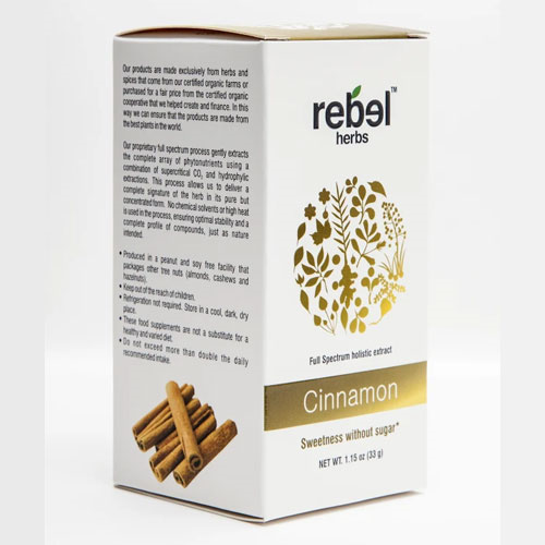 Rebel Herbs Cinnamon Extract Powder 33gm by Rebel Herbs