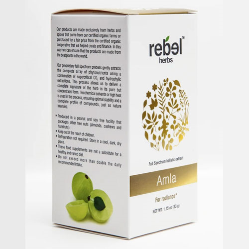 Rebel Herbs Amla Extract Powder 33gm by Rebel Herbs