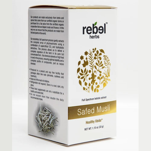 Rebel Herbs Safed Musli Extract Powder 33gm by Rebel Herbs